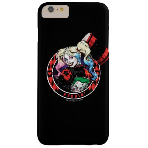 Batman | Harley Quinn Winking With Mallet Barely There iPhone 6 Plus Case