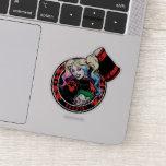 Batman   Harley Quinn Winking With Mallet Sticker