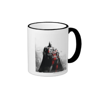 Batman & Harley Ringer Mug