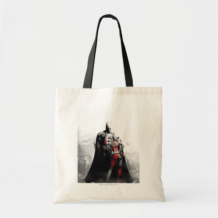 Batman & Harley Tote Bag