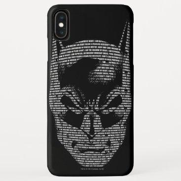 Batman Head Mantra iPhone XS Max Case