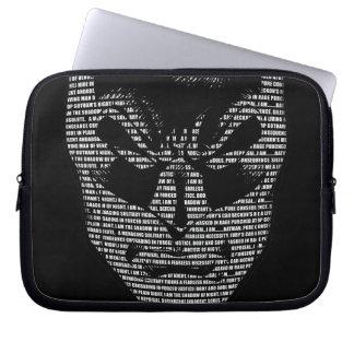 Batman Head Mantra Computer Sleeve