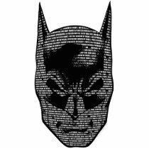 batman, bruce wayne, batman mantra, batman saying, dc comics, dark knight, bat man, Photo Sculpture with custom graphic design