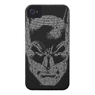 Batman Head Mantra iPhone 4 Case-Mate Case