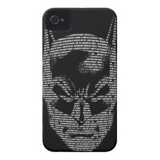 Batman Head Mantra iPhone 4 Cover