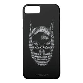 Batman Head Mantra iPhone 7 Case