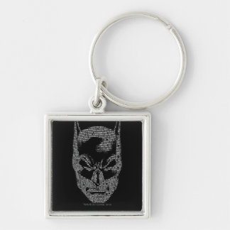 Batman Head Mantra Keychain