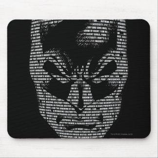 Batman Head Mantra Mouse Pad