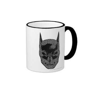 Batman Head Mantra Ringer Coffee Mug