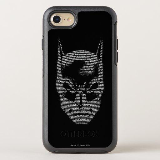 Batman Head Mantra OtterBox Symmetry iPhone 8/7 Case