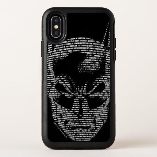 Batman Head Mantra OtterBox Symmetry iPhone X Case