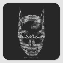 batman, bruce wayne, batman mantra, batman saying, dc comics, dark knight, bat man, Sticker with custom graphic design