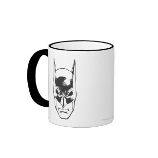 Batman Head Ringer Coffee Mug
