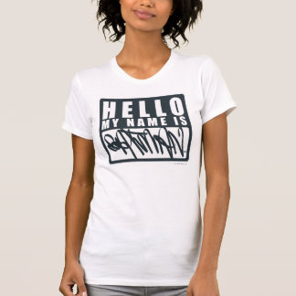 Batman | Hello My Name is Batman Logo T-Shirt
