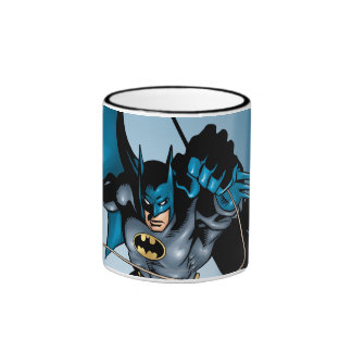 Batman Hyperdrive - 11B Ringer Coffee Mug