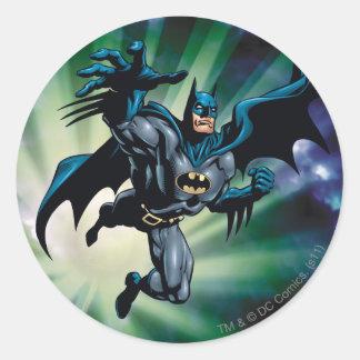 Batman Hyperdrive - 12A Classic Round Sticker