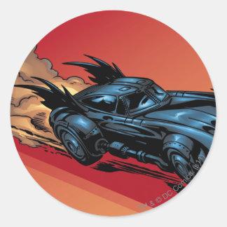 Batman Hyperdrive - 25A Classic Round Sticker