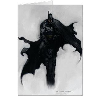 Batman Illustration Card