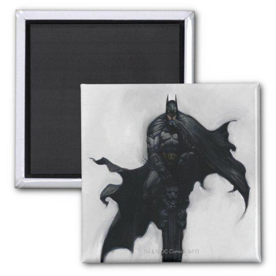 Batman Illustration Magnet