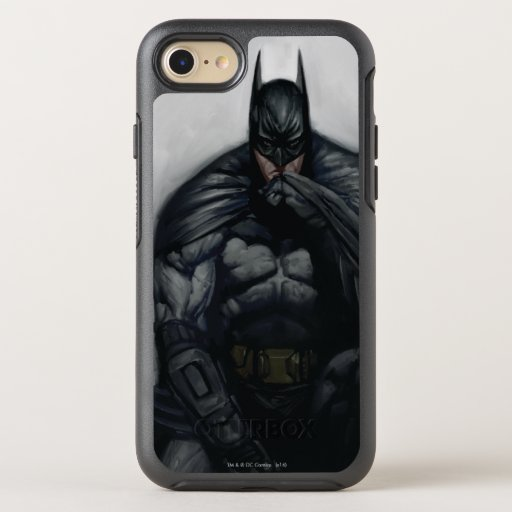 Batman Illustration OtterBox Symmetry iPhone SE/8/7 Case