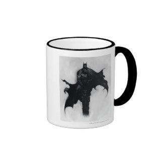 Batman Illustration Ringer Mug