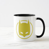 batman logo, yellow and black, batman, batman symbol, joker, the joker, gotham, gotham city, batman movie, bat, bats, super hero, super heroes, hero, heroes, villians, villian, batman art, batman comics, comic, batman comic, dc batman, batman villians, the penguin, penguin, the roman, falcone, the boss, boss, corrupt, two-face, two face, harvey dent, catwoman, hush, scarecrow, the mad hatter, mister freeze, mr freeze, robin, Mug with custom graphic design