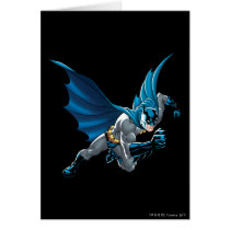 Batman into action card