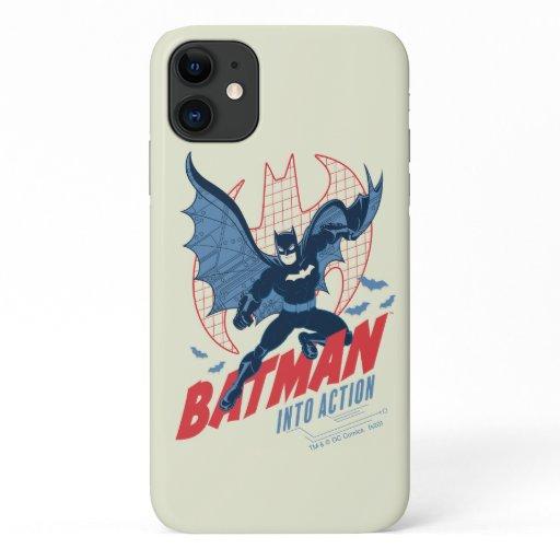 Batman Into Action iPhone 11 Case