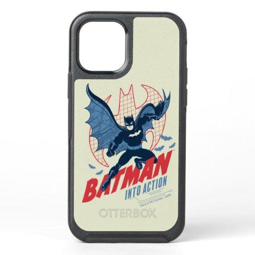 Batman Into Action OtterBox Symmetry iPhone 12 Case