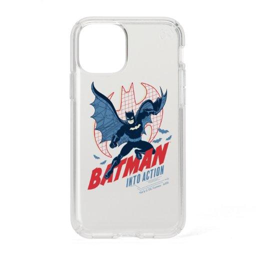 Batman Into Action Speck iPhone 11 Pro Case