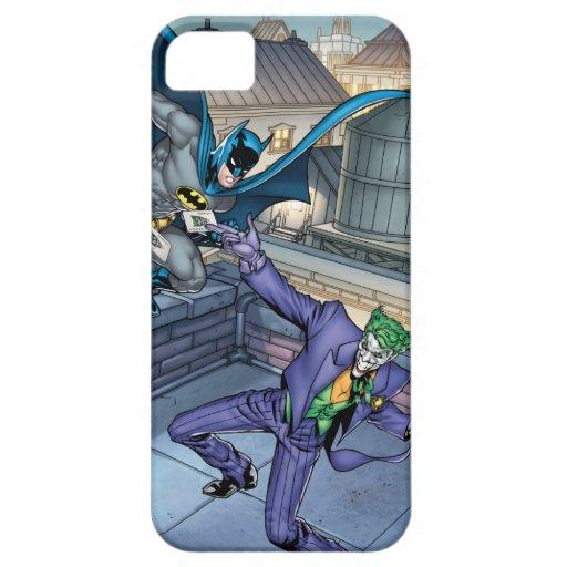 Batman & Joker - Battle iPhone SE/5/5s Case
