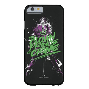 Batman | Joker Clown Prince Of Crime Ink Art Barely There iPhone 6 Case