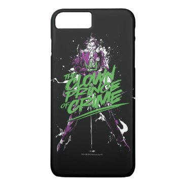 Batman | Joker Clown Prince Of Crime Ink Art iPhone 8 Plus/7 Plus Case