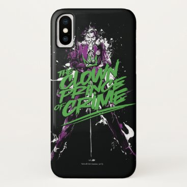 Batman | Joker Clown Prince Of Crime Ink Art iPhone X Case