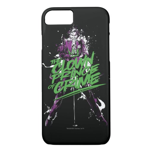 Batman | Joker Clown Prince Of Crime Ink Art iPhone 8/7 Case