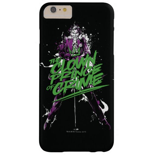 Batman | Joker Clown Prince Of Crime Ink Art Barely There iPhone 6 Plus Case