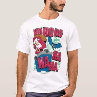 Batman | Joker Santa Claus Climbing Out Chimney T-Shirt