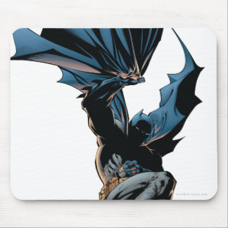 Batman Jumping Down Action Shot Mouse Pad