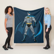 Batman Kicks Fleece Blanket