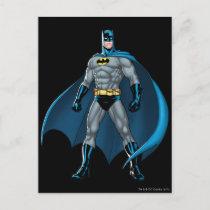 Batman Kicks Postcard