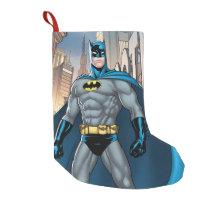 Batman Kicks Small Christmas Stocking