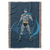 Batman Kicks Throw Blanket