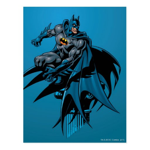 Batman Knight FX - 10A Postcard