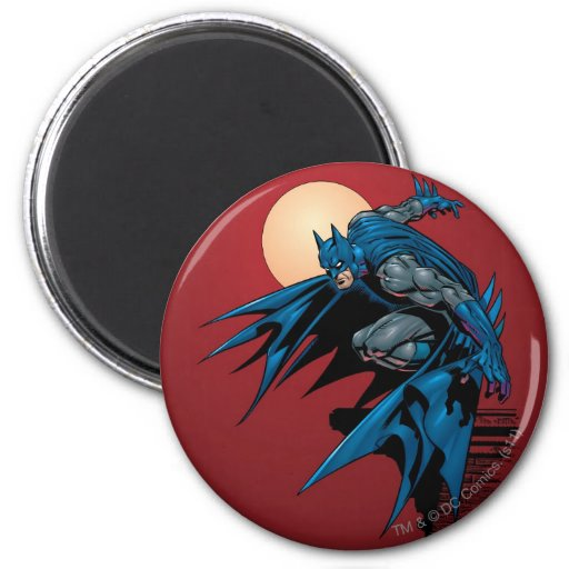 Batman Knight FX - 15 2 Inch Round Magnet