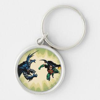Batman Knight FX - 20B Silver-Colored Round Keychain
