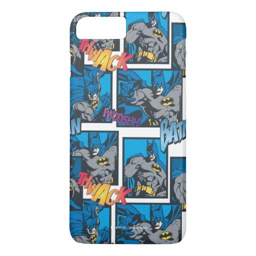 Batman Knight FX - 30A Thwack/Fwooshh pattern iPhone 8 Plus/7 Plus Case