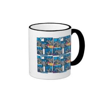 Batman Knight FX - 30A Thwack/Fwooshh pattern Ringer Coffee Mug