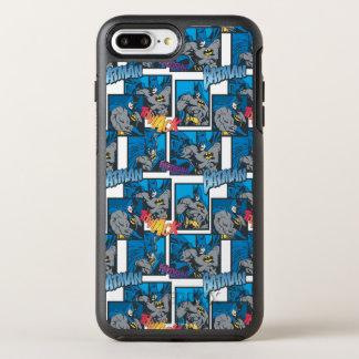 Batman Knight FX - 30A Thwack/Fwooshh pattern OtterBox Symmetry iPhone 7 Plus Case