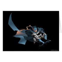 Batman Leaping Forward Card