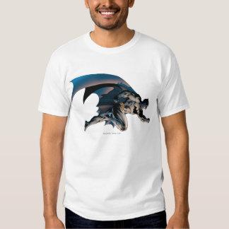 Batman Leaping Side View Tee Shirts